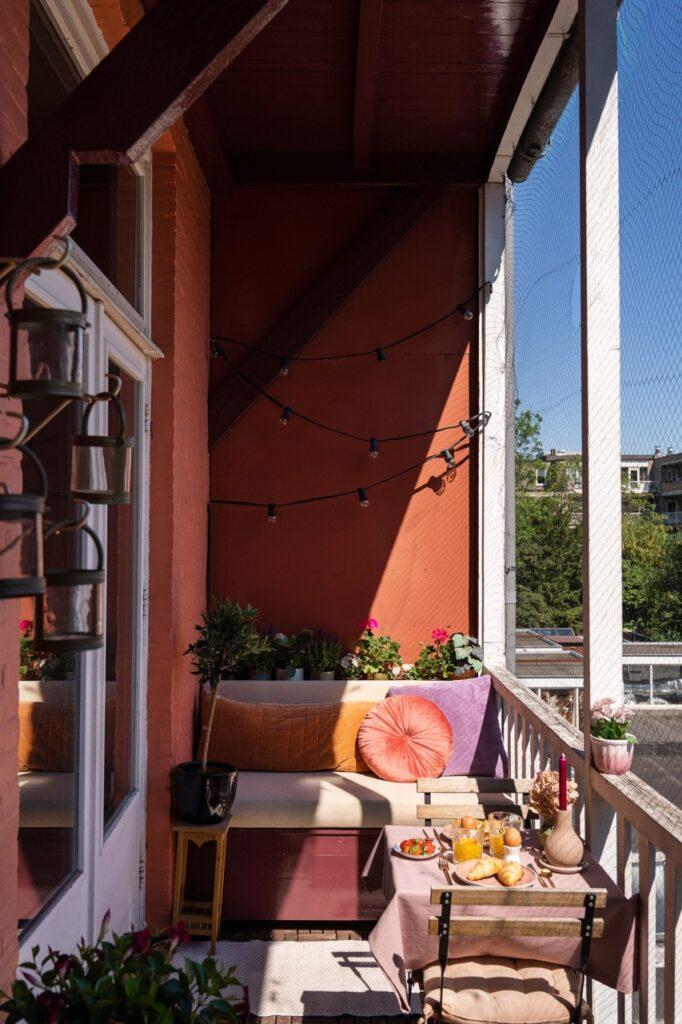 balkonbankje