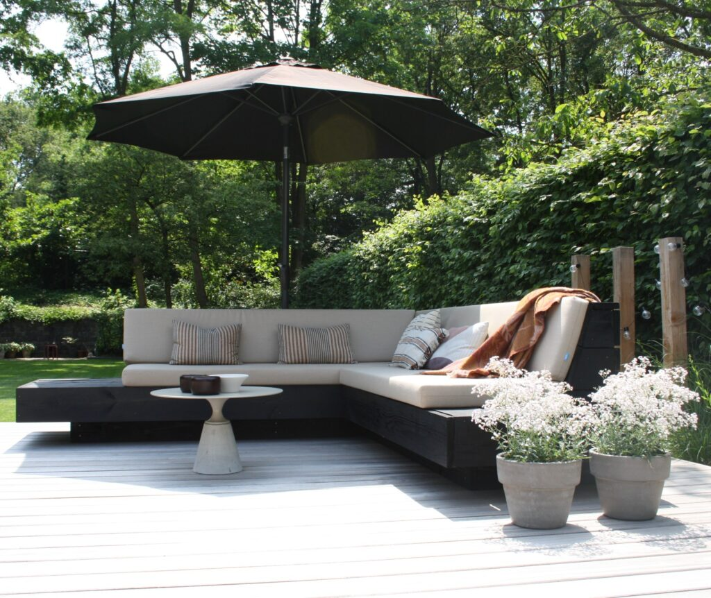 tuin houten vlonder